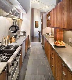 fotos de cocinas alargadas2