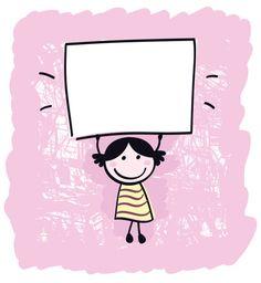 Happy cute little girl holding empty blank banner - cartoon illustration Blank Banner, Girls Hand, Cute Little Girls, Craft Tutorials, Creative Business, Metal Art, New Art, Vector Art, How To Draw Hands