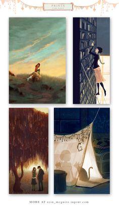 Erin McGuire Art Book giveaway- http://emcguire.blogspot.com/