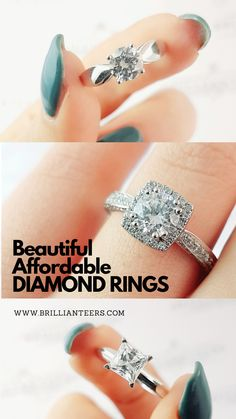 Looking for affordable diamond rings? 😍 Find your dream engagement ring at www.brillianteers.com/ Dream Engagement Rings, Designer Engagement Rings, Affordable Diamond Rings, Ring Designs, Finding Yourself, Wedding Inspiration, Group, Board, Beautiful