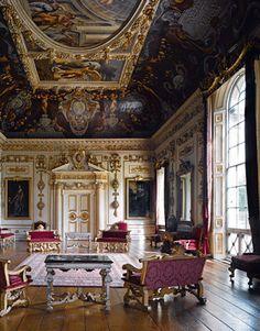 The Ancient Russian InteriorTsarist Palace Granovitaya Chamber