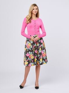 Floral Fashion, Diva Fashion, Modest Fashion, Skirt Fashion, Fashion Dresses, Style Fashion, Girly Outfits, Modest Outfits, Cute Outfits