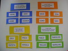 Textos, atividades, materiais e jogos para alfabetização