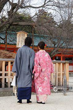 couple in kimono (by *Emilio Giordano) via japanlove.tumblr.com