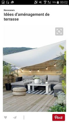 Roof terrace seating ideas