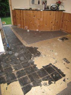 Asbestos tile removal - Epoxy after/tile after? - The Garage Journal ...