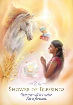 Diana Cooper, Pay It Forward, Unicorns, Daenerys, Blessed, Deck, Magic, Horses, Cards