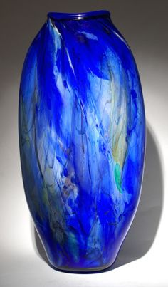Art Glass Clam Shell by Dan & Joi LaChaussee from Kela's...a glass gallery on Kauai