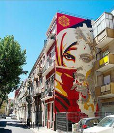 Obey x Vhils Lisbon