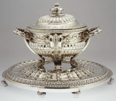 Tureen and Stand from the Orloff Collection, circa 1770-1771