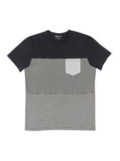 Camiseta Masculina Regular Em Algodão E Poliéster Com Bolso | Camisetas | Masculino | Hering