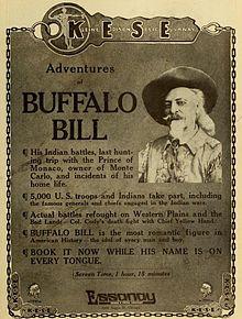 The Adventures of Buffalo Bill (1914). Wikipedia