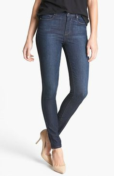 STS Blue High Waist Skinny Jeans (Dark) (Juniors) available at ...