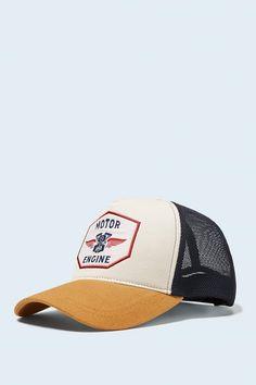 Bright Retro Minimal UFO Fashion Adjustable Cotton Baseball Caps Trucker Driver Hat Outdoor Cap Black