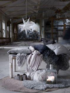 talvi,matto,lyhty,joulu,tyynynpäällinen