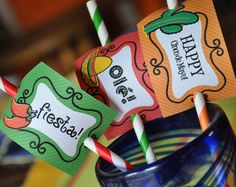 neon Mexican fiesta party supplies - Google Search