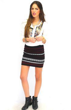 BB DAKOTA The Color Sweater Skirt