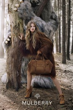 Lindsey Wixson / Mulberry Ad Campaign Fall-Winter 2012-2013