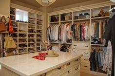 closet organizers | Found on houzz.com