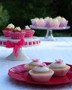 Tris di Cupcakes e Ode alla Primavera