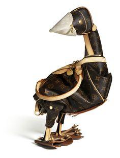 db29f9882e9b Louis Vuitton Duck Bag by British artist Billie Achilleos in collaboration  with Louis Vuitton Handbags Online