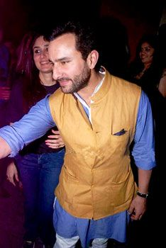 saif in nehru jacket # love color