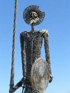 Resultado de imagen para el quijote dela mancha escultura