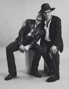 Robert Downey Jr & Johnny Deep