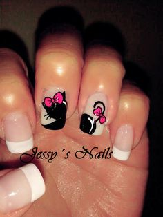 Nail Caps, La Nails, Manicure Y Pedicure, Nagel Gel, French Nails, Simple Nails, Nail Designs, Beauty, Cami