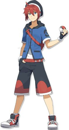 Kevin's goal is to be a water pokémon sinnoh ace trainer & his rival is Alice