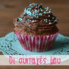 Ελαφριά cupcakes όλο σοκολάτα - Craftaholic