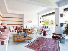 Una casa reformada para ganar una terraza cubierta