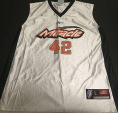 Orlando Miracle Nykesha Sales Large Reebok White WNBA Jersey K1 #Reebok #OrlandoMiracle