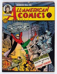 Golden Age (1938-1955):Superhero, All-American Comics #56 (DC, 1944) Condition: VG/FN....