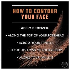 Confused about #contouring? Not any more! #bottledsunshine #makeup #tip #goldenglow