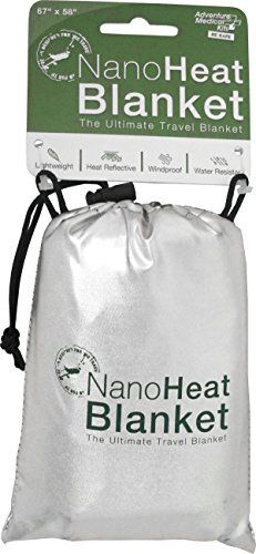 Adventure Medical Kits Nanoheat WaterResistant Travel Blanket 05 Pound * Click image to review more details.