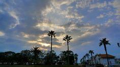 Sky at Tateyama Station, South Bousou peninsula.