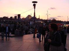 Sonnenuntergang in Eminönü
