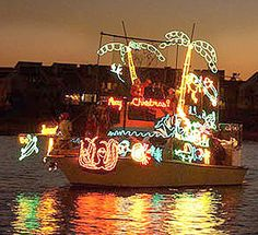 St. Pete Beach holiday boat parades
