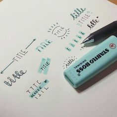 Exceptional Over 33 simple ideas for the Bullet Journal to do your daily business . - Exceptional Over 33 simple ideas for the Bullet Journal to simplify your daily business …, o - Bullet Journal Simple, Bullet Journal Headers, Bullet Journal Aesthetic, Bullet Journal 2019, Bullet Journal Ideas Pages, Bullet Journal Layout, Bullet Journal Inspiration, Bullet Journal Writing, Doodle Inspiration