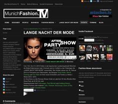 MunichFashion.TV   After-Show-Party Announcement