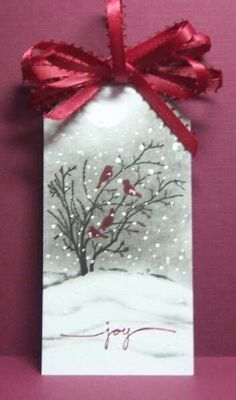 Winter card....