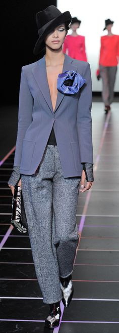 Fall 2012 Ready-to-Wear  Giorgio Armani