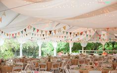 Wedding Bells: Getting Crafty Wedding Pennant, Marquee Wedding, Rustic Wedding, Our Wedding, Camp Wedding, Woodland Wedding, Garden Wedding, Wedding Stuff, Holguin