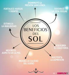 Los beneficios del #sol