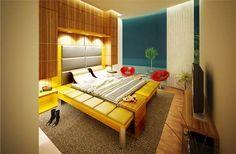 elegant cool bedroom lighting ideas