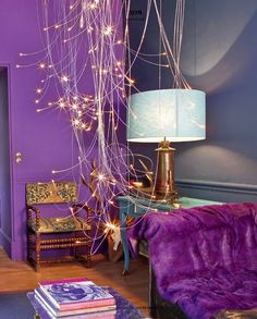 Beautiful Purple Painted Bedroom Ideas