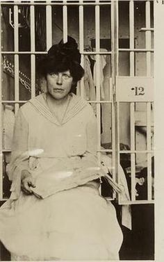 Lucy Burns was jailed in 1917 because she asked for ketchup on her eggs Benedict. Should've been hung!