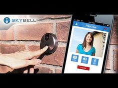 SkyBell: Answer Your Door From Mobile Device No Matter Where You Are    Answering Doorbells Have Never Been Easier