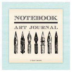 Craft Origine - Tampons caoutchouc - Notebook